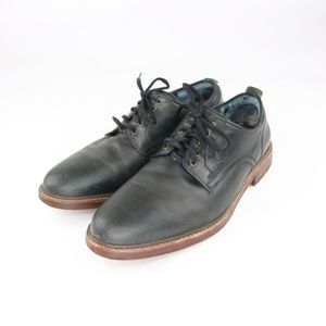 Cole Haan Tyler Grand Black Leather Oxfords S 11.5